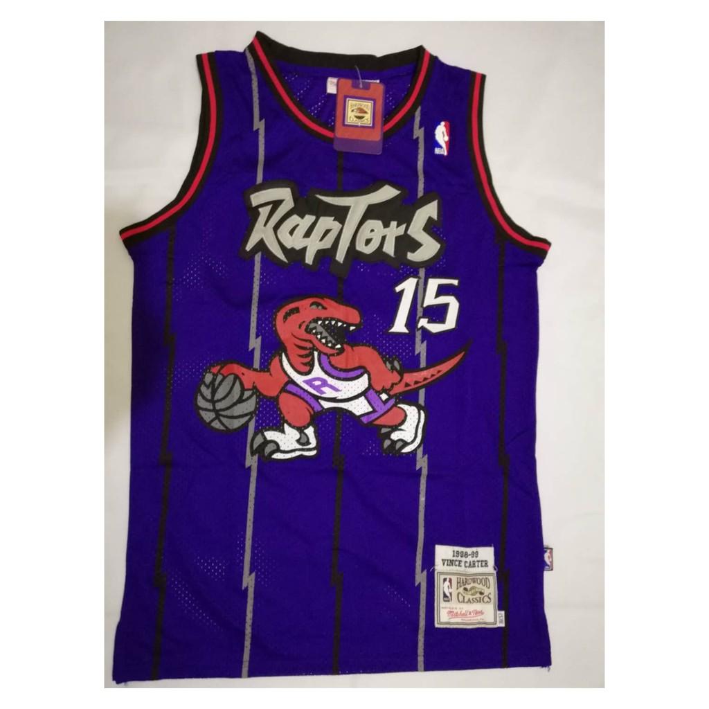 newest 82c90 4c426 Toronto Raptors Vince Carter 15 Basketball Jersey