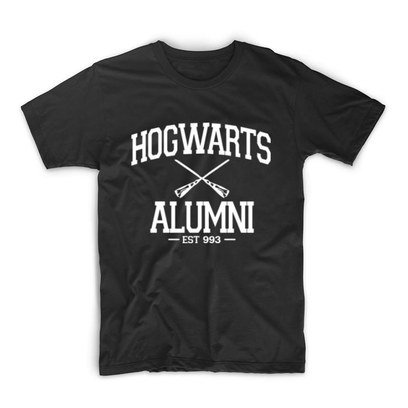 e9d9ab9f Harry Potter Hogwarts Alumni Cool Designs Tshirt Shirt | Shopee Philippines