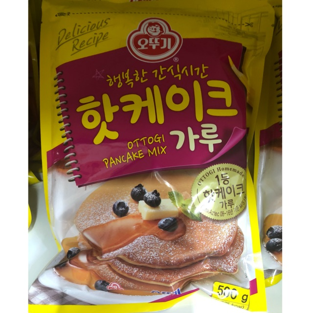 Korean ottogi pan cake mix 500g