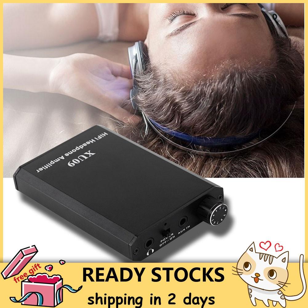 Amp Quality Amplifier Mini HiFi Improve Stereo Headphone