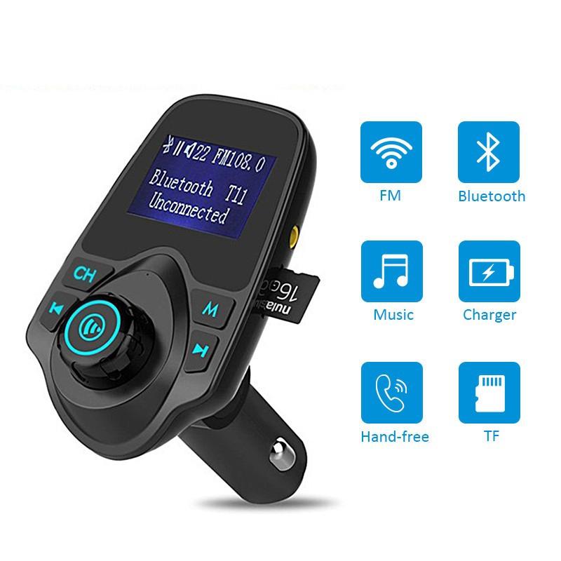 Mp3 Player Wireless Bluetooth Fm Transmitter FM Modulator HandsFree Car Kit T11