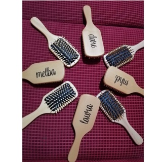 Personalized Wooden Brush Shopee Philippines