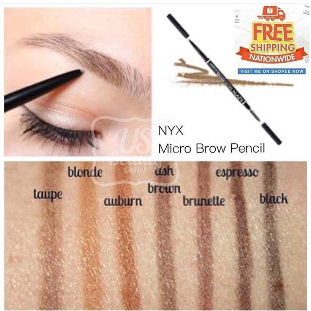 Nyx Micro Brow Pencil Shopee Philippines