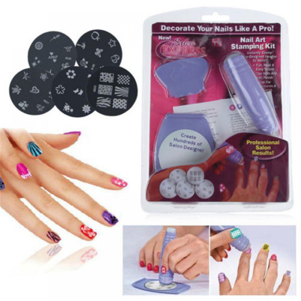 Nail Art Stamping Kit | Shopee Philippines