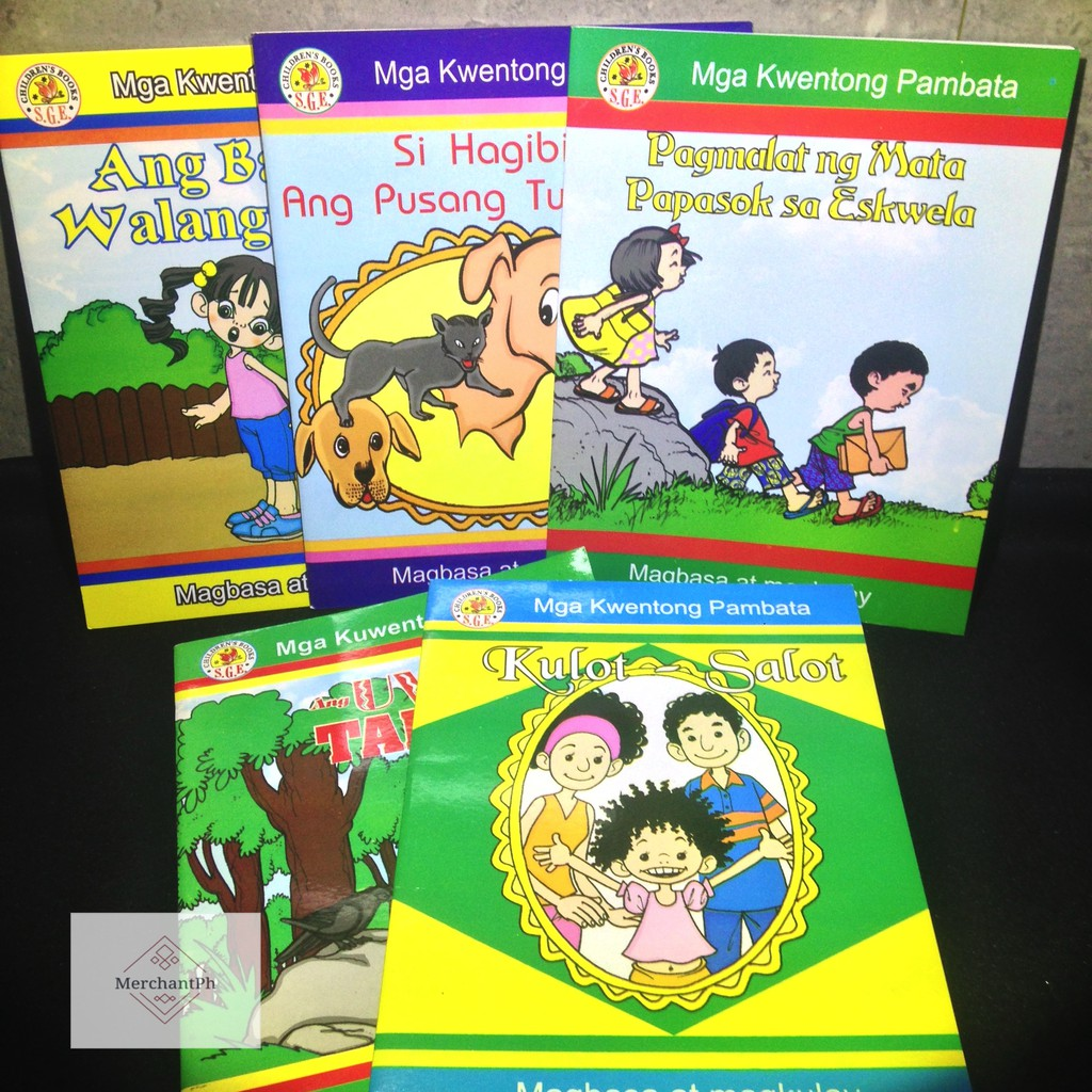 ✅ Children's Tagalog Books : Kwentong Pambata Collection 2