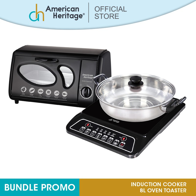 American Heritage Microwave Oven: American Heritage Induction Cooker AHIC-6174 And 8L Oven