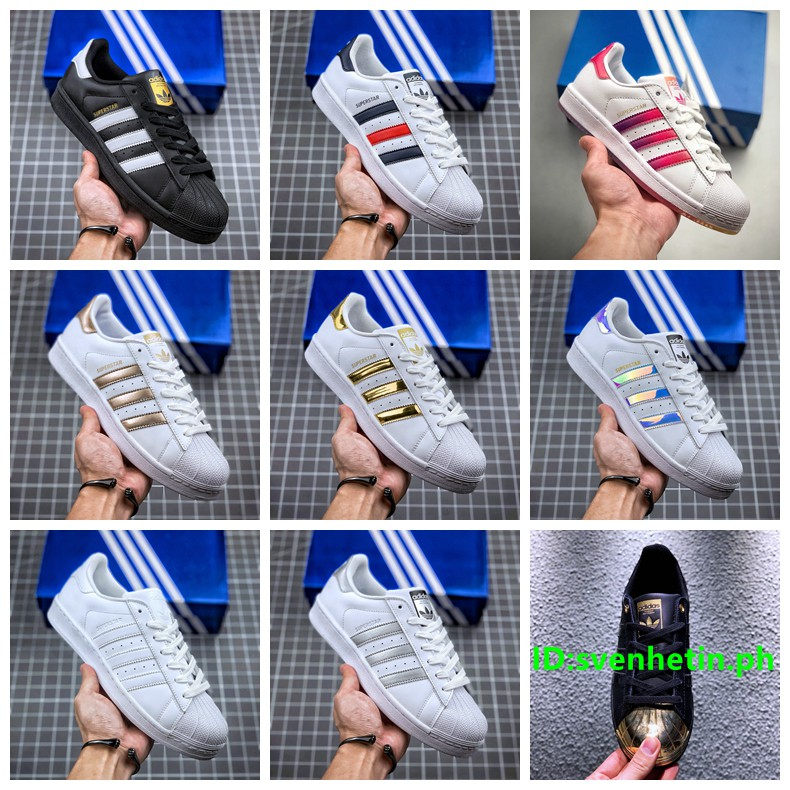 artículo Bailarín Antídoto  Adidas superstar clover classic men and women low-top casual sneakers Nine  colors can be selected | Shopee Philippines