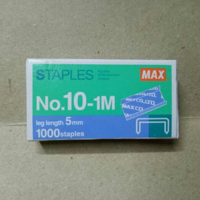 MAX staples wire no.10 | Shopee Philippines