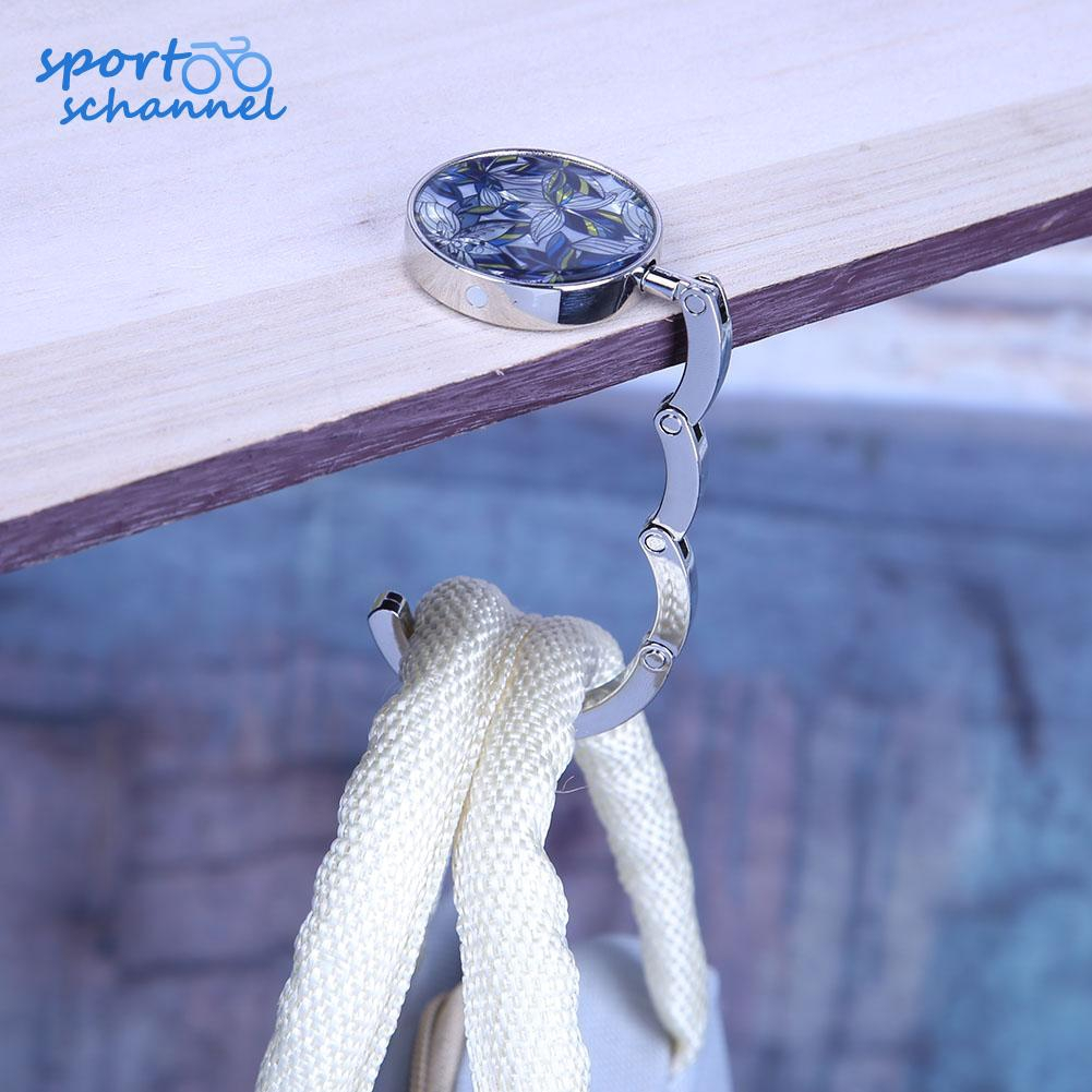 Flies In Regular Order Handbag Table Hook Table Hook Folding Bag Desk Hanger Foldable Holder