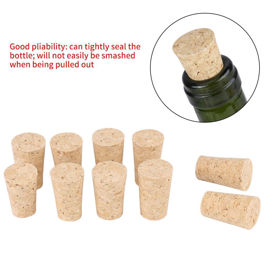Pack of 30 pcs Cork Beer Wine Bottle Stopper Tapered