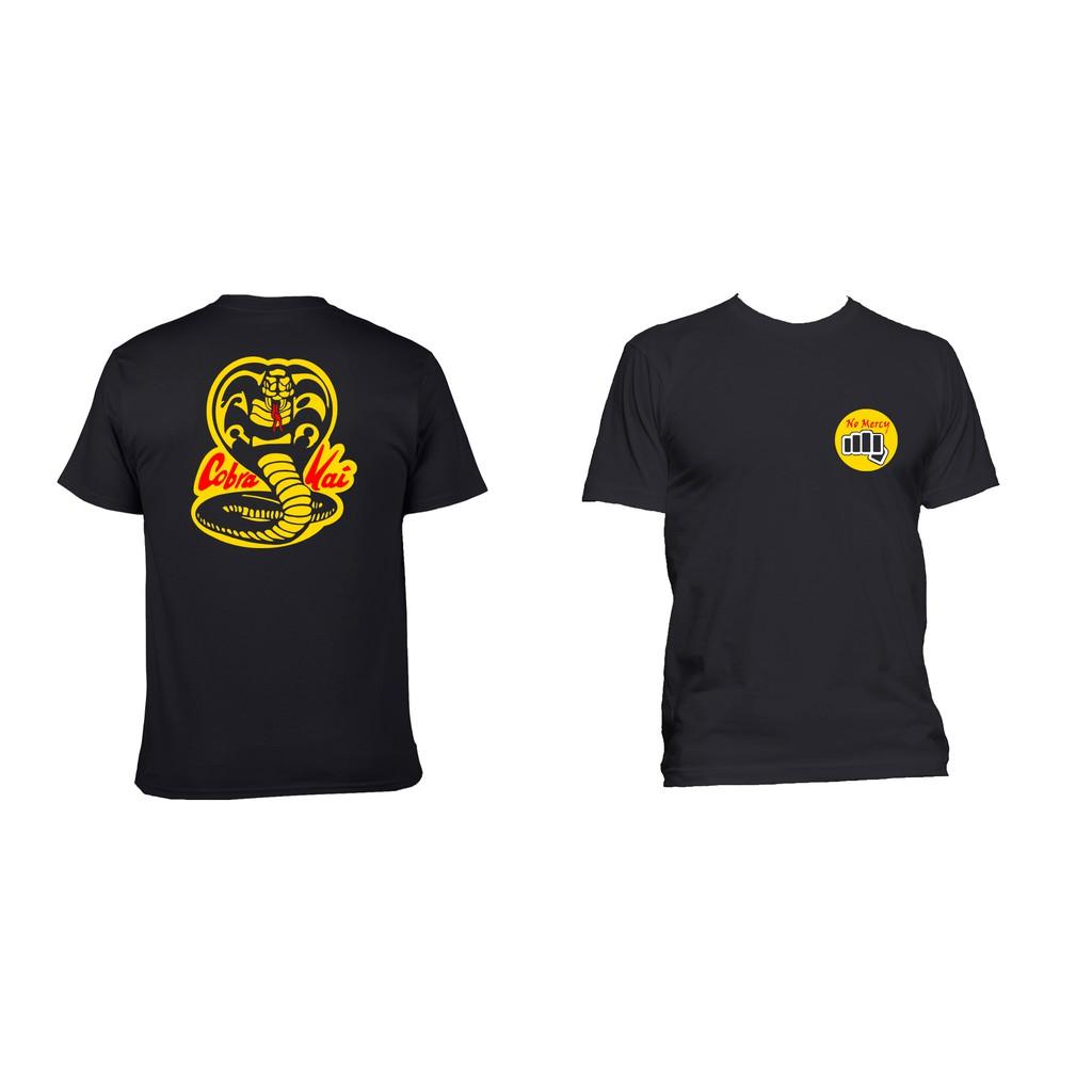 5c755b4cb9bd Diy American Classics Karate All Valey 84 Cobra Kai Adult Slim-Fit T Shirt  Grey | Shopee Philippines
