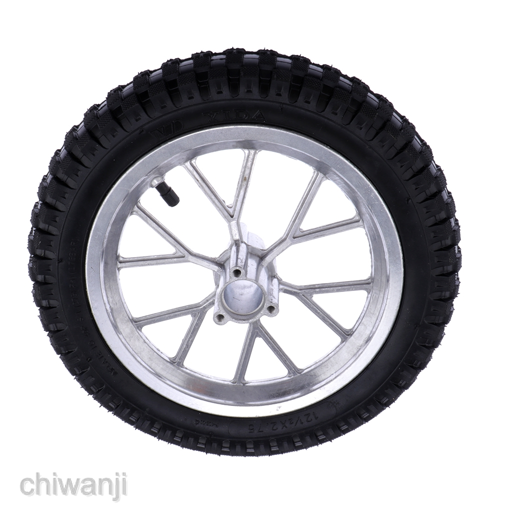 12 5 2 75 Rear Wheel Tyre Tire For 49cc Mini Pit Monkey Pocket Dirt Bike Shopee Philippines
