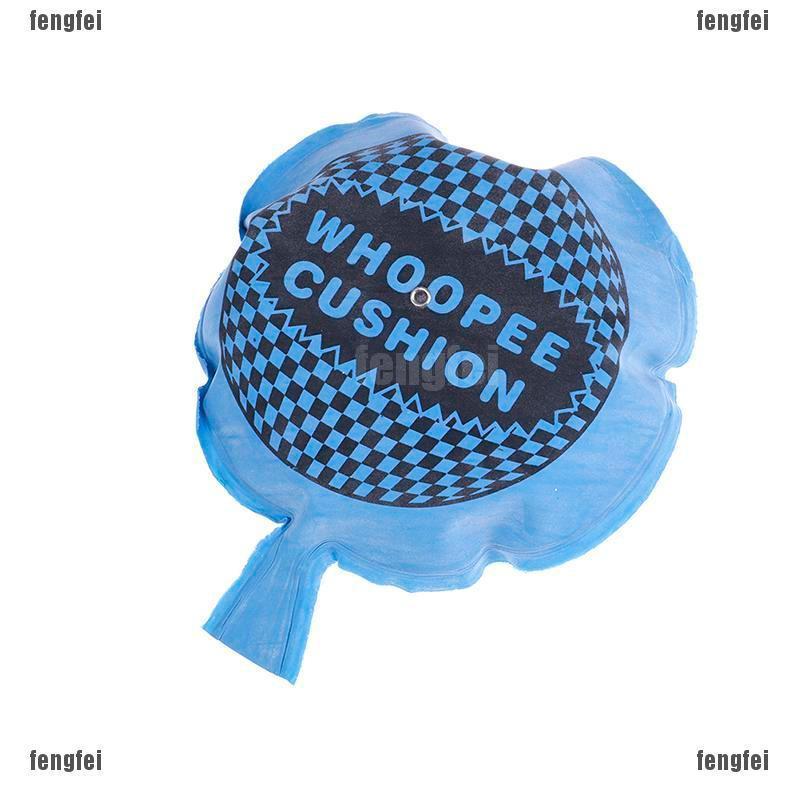 Fun Self Inflating Whoopee Cushion Joke Prank Party Fart Whoopie Balloon Gag OF
