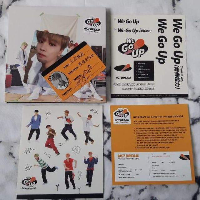 ON HAND] NCT DREAM - WE GO UP [2nd Mini Album] | Shopee