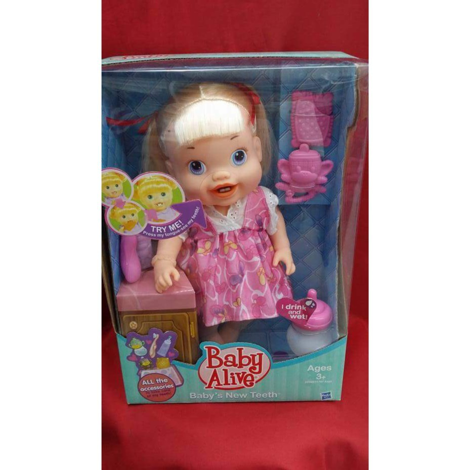Stv Baby Alive With Toothbrush Shopee Philippines