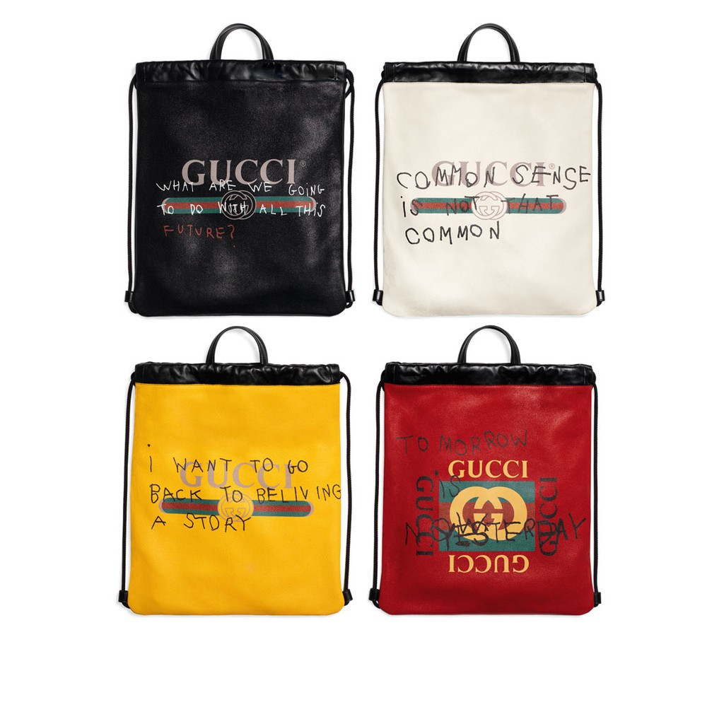 Gucci Coco Capitán logo backpack (Red)  1ac8e6df2f5b4