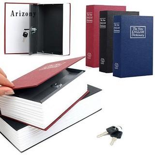 ✮Creative Booksafe Lock Key Book Safe Diversion Secret
