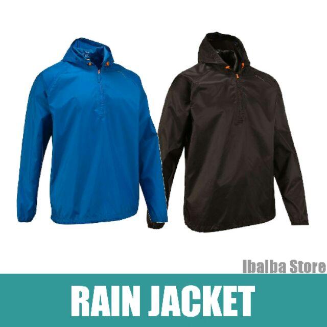 color brilliancy newest selection promo codes Decathlon Quechua Waterproof Rain Jacket for Men