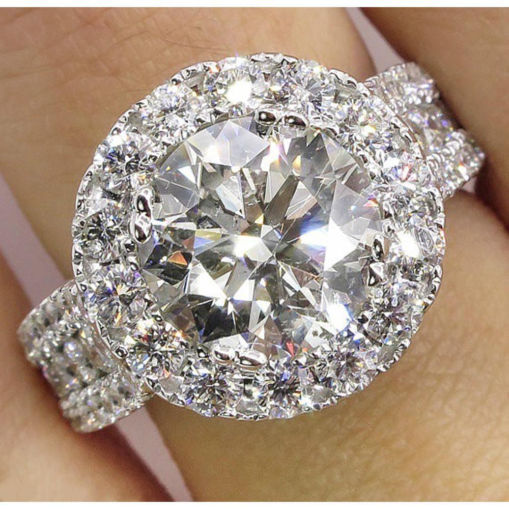 Rings Glamour Crystal Wedding