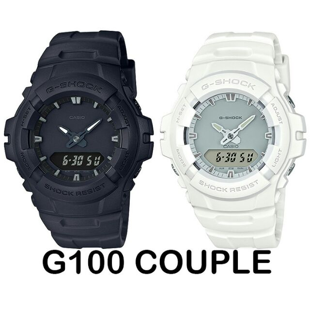 G Couple Casio Shock G100 Watch Original wZukXTOPi