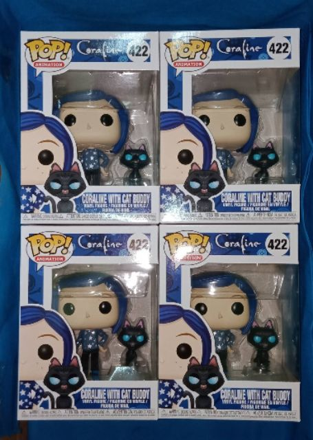 Funko Pop Coraline Doll 425 The Other Mother 427 Coraline With Cat Buddy 422 Shopee Philippines