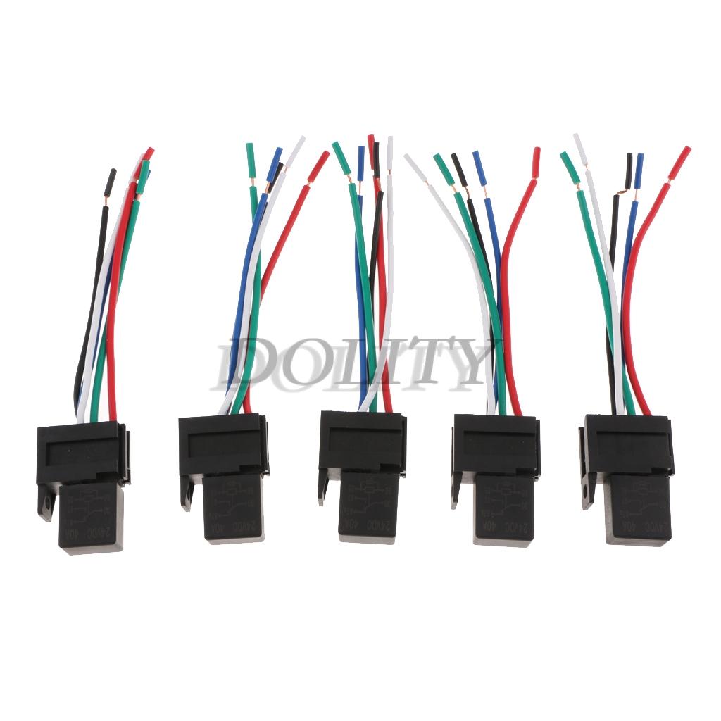 5 Pin Relay Socket