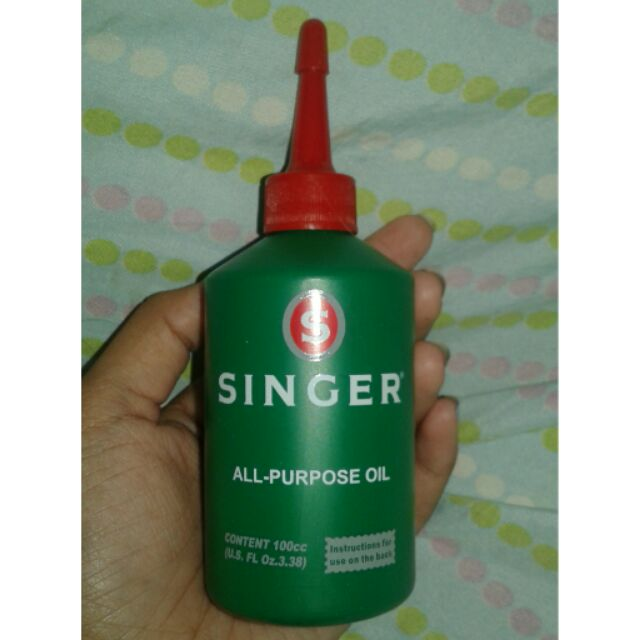 Sewing Machine Oil - Singer All-Purpose Oil | Shopee ...