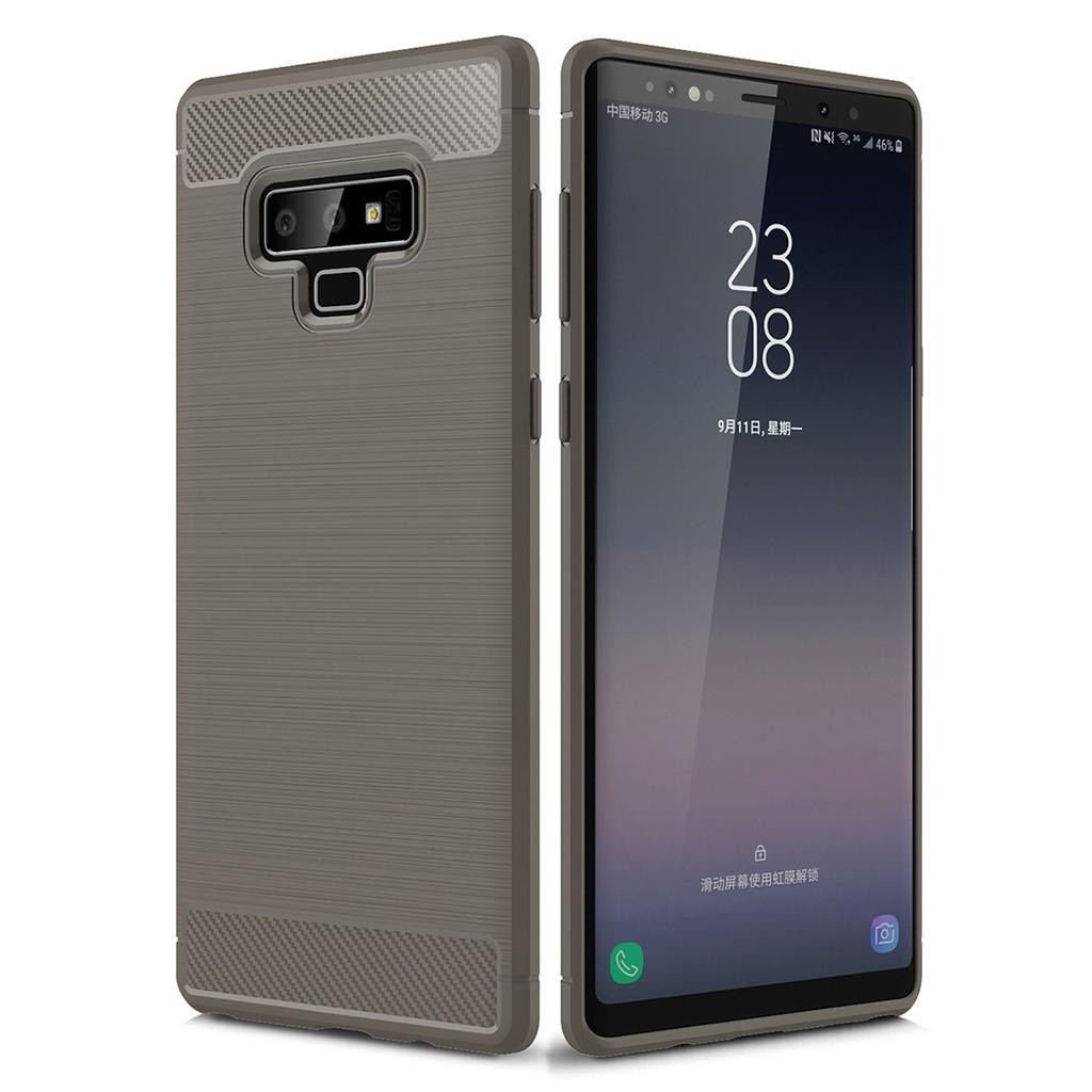 info for 7be2b d784f Samsung Galaxy Note 9 Carbon Fiber Slim Soft TPU Case