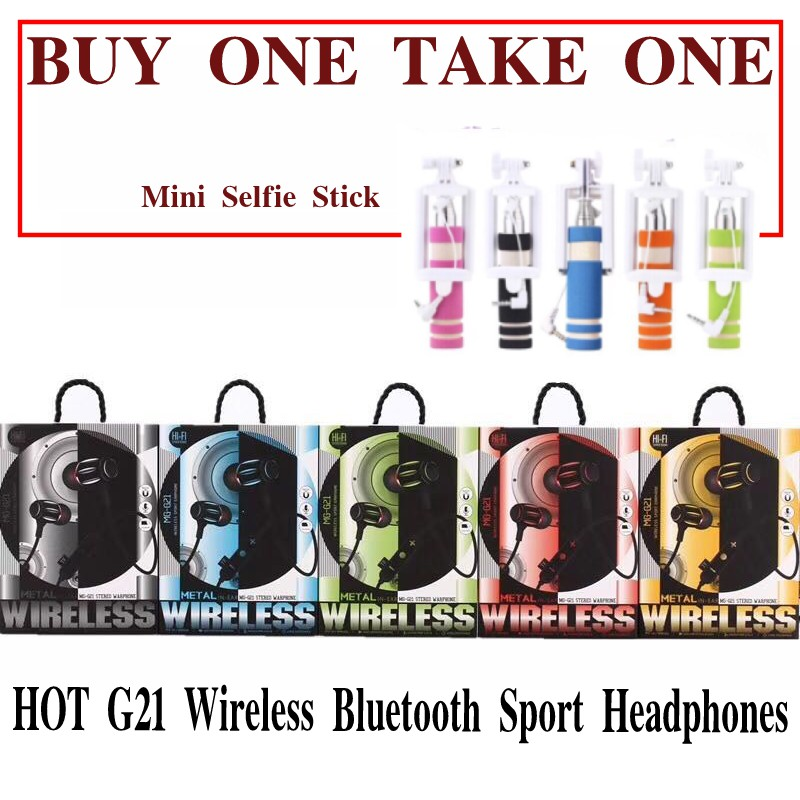 HOT  G21 Wireless Bluetooth Sport Headphones COD Earphone