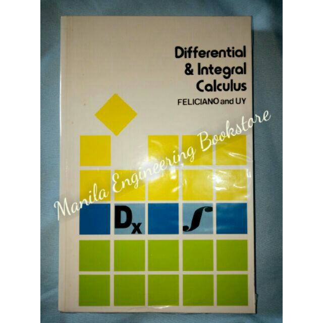 feliciano and uy differential and integral calculus