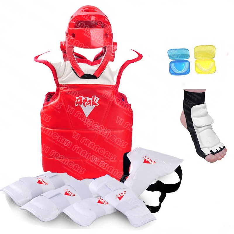 Sport Head Guards Protector TKD Taekwondo Martial Arts Free Combat Sparring Gear