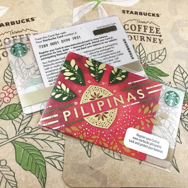 Philippines Starbucks Card Collection - Part 1