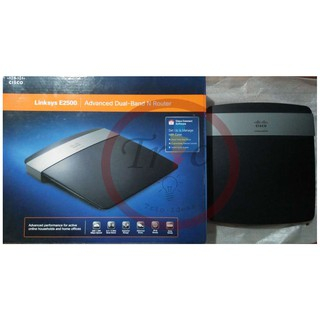 Cisco Linksys E2500 Dual Band N Router | Shopee Philippines