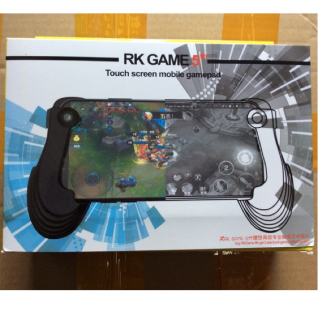 Rk Game 5th Universal Touch Screen Mobile Gamepad Black Shopee