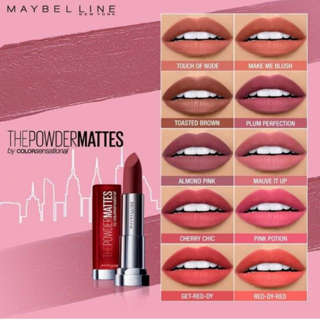 Maybelline Superstay City Edition Authentic Shopee Philippines