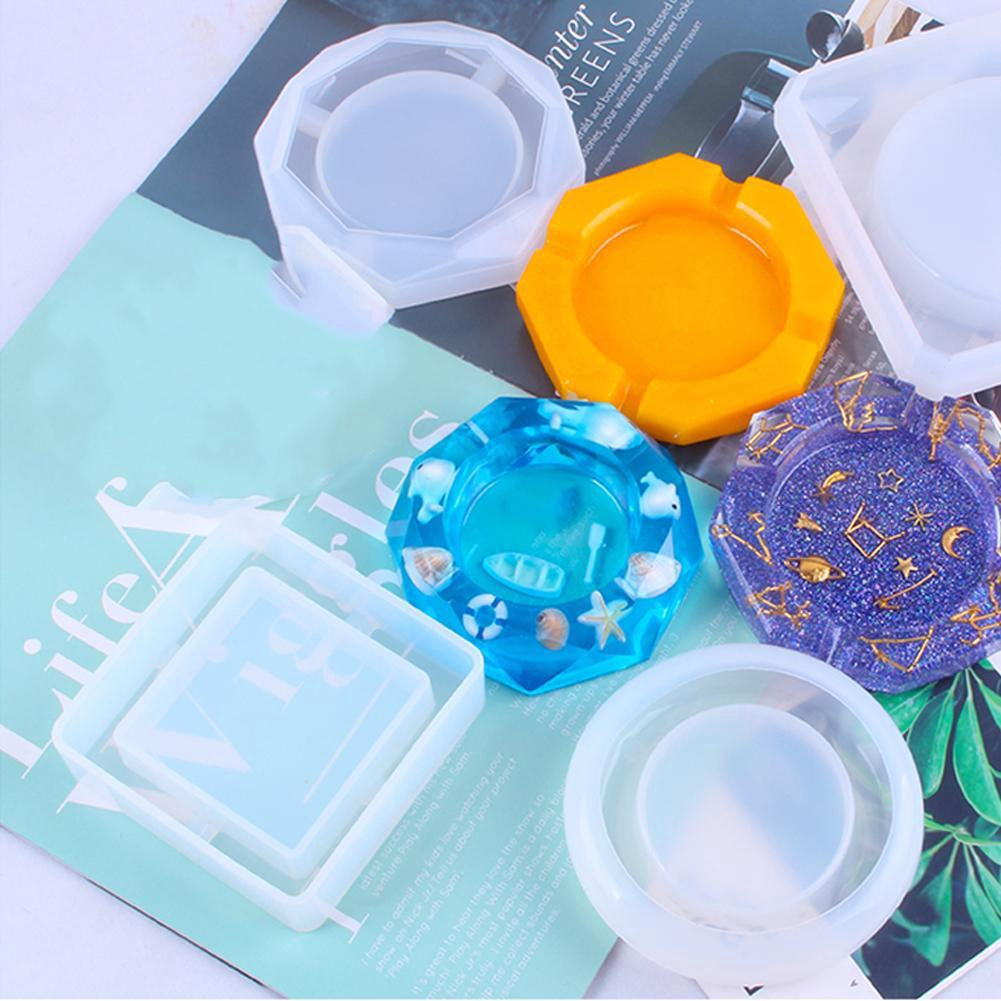 1pc Ashtray Craft Diy Transparent Uv Resin Epoxy Silicone Combination Molds For Diy Making Finding Accessories Jewelry Shopee Philippines