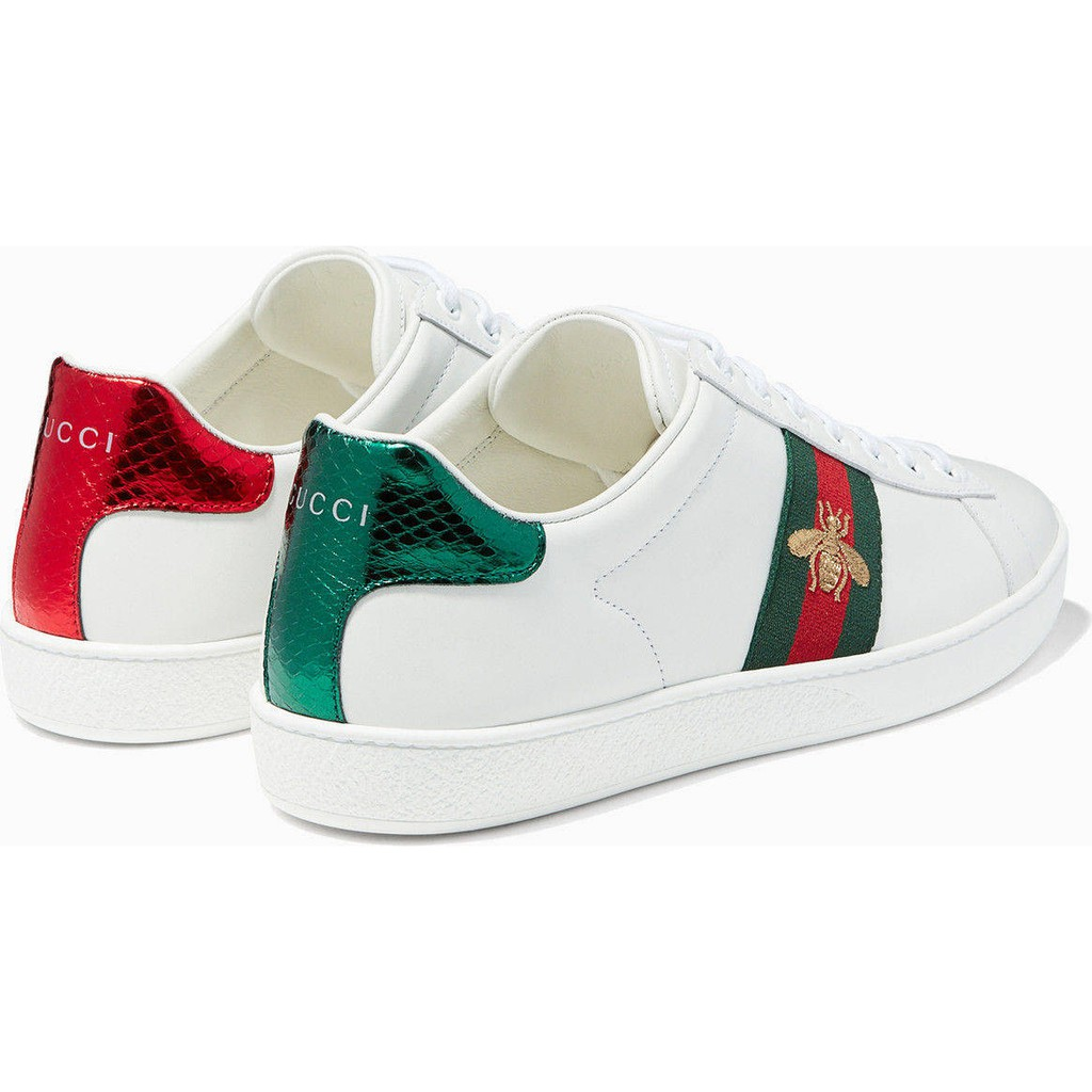 watch top quality vast selection Gucci Women shoes low cut white shoes | Shopee Philippines