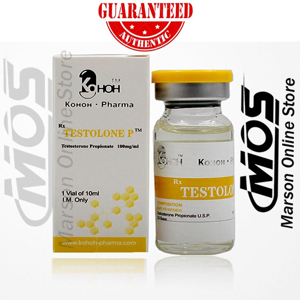 Genuine - Testosterone Propionate 100mg/ml - Kohoh Pharma Shopee Philippines