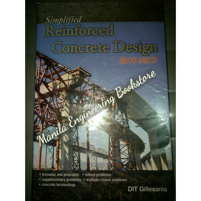 Simplified Reinforced Concrete Design by Gillesania