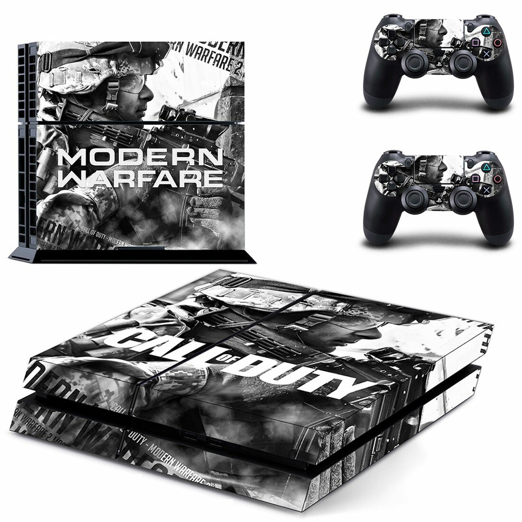 Call Of Duty Modern Warfare Ps4 Skin Sticker For Playstation 4 Console And Controllers Ps4 Skin Shopee Philippines
