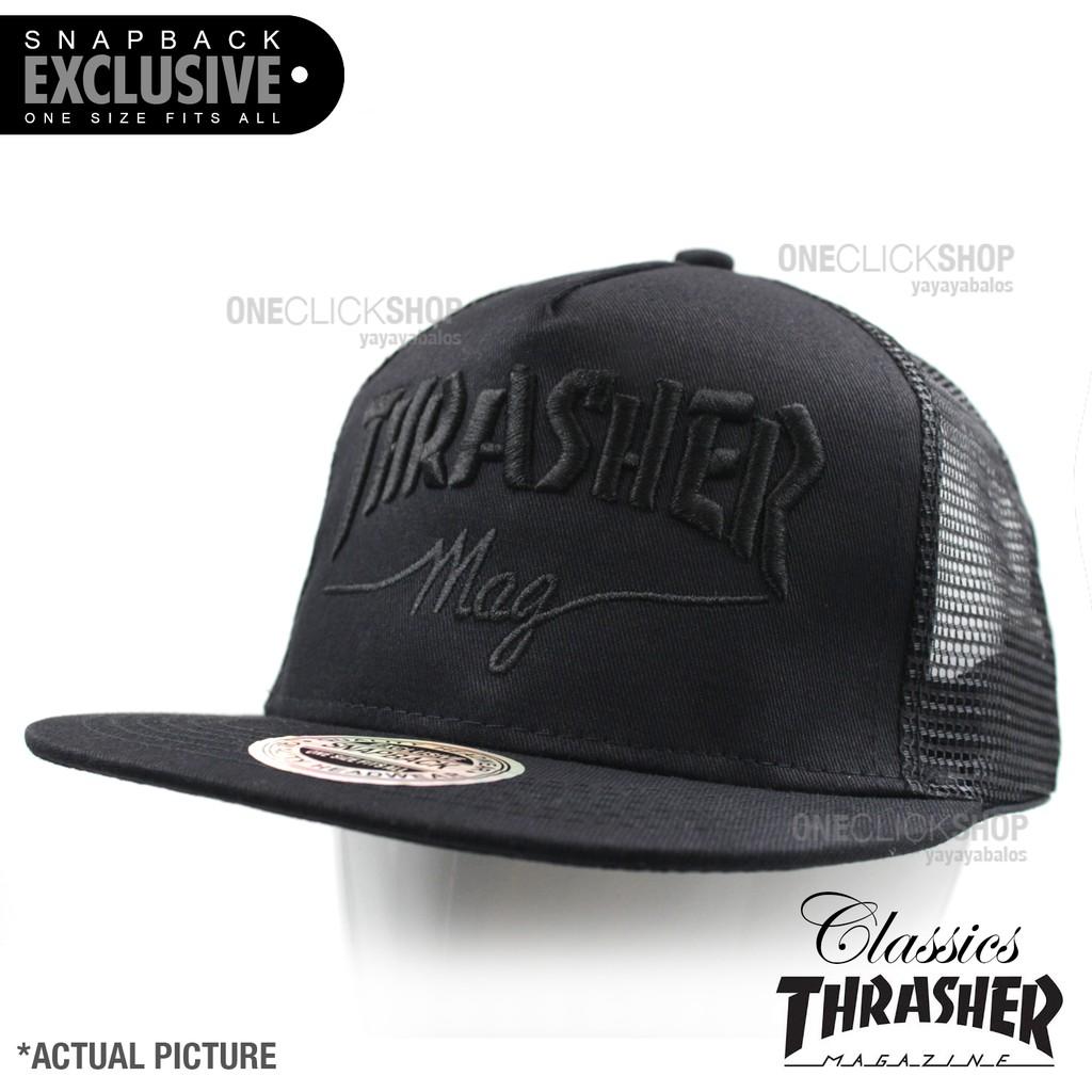 Thrasher Magazine Snapback Vans Skateboarding Net Cap  e9167c6ee6da