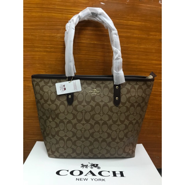 4979a548 Women's fashion coach ladies tote bag top product for cod | Shopee  Philippines