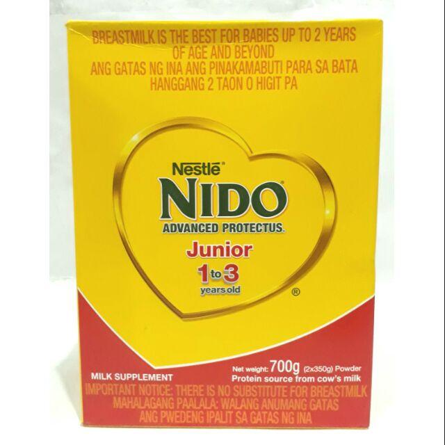Nido Junior 1-3 700g   Shopee Philippines