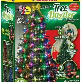 Shark Tank Christmas Tree Lights.16 Color Amazing Animated Christmas Tree Lights Tree Dazzler