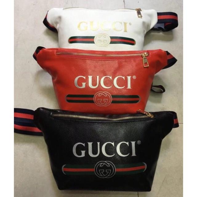 b56dcfa1 Cod Jsshop88 Leather belt bag sport bag