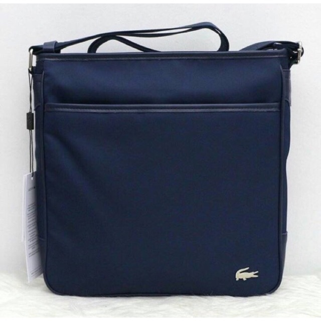 7b12e76bbc3 Authentic / Original Lacoste sling bag for men | Shopee Philippines
