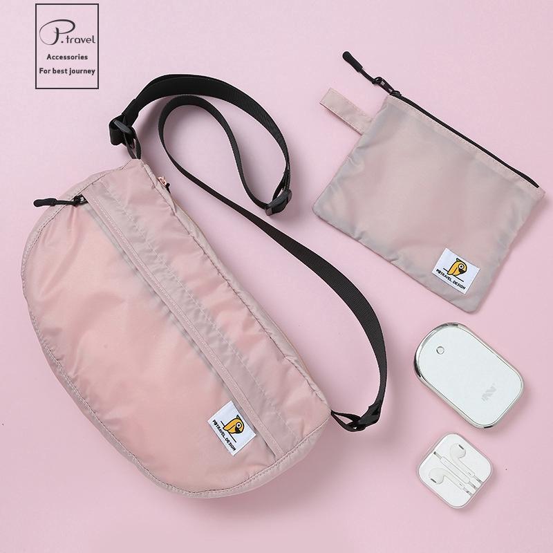 Women Travel Corduroy Retro Shoulder Crossbody Bag Mini Phone Holder Pouch