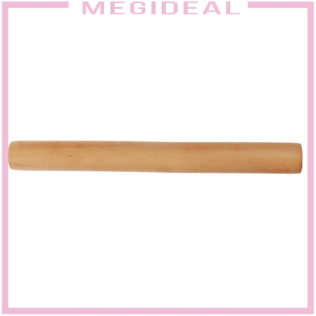 Megideal Wooden Rolling Pin Wood Roller Stick For Ceramics Pottery Clay Tools Shopee Philippines