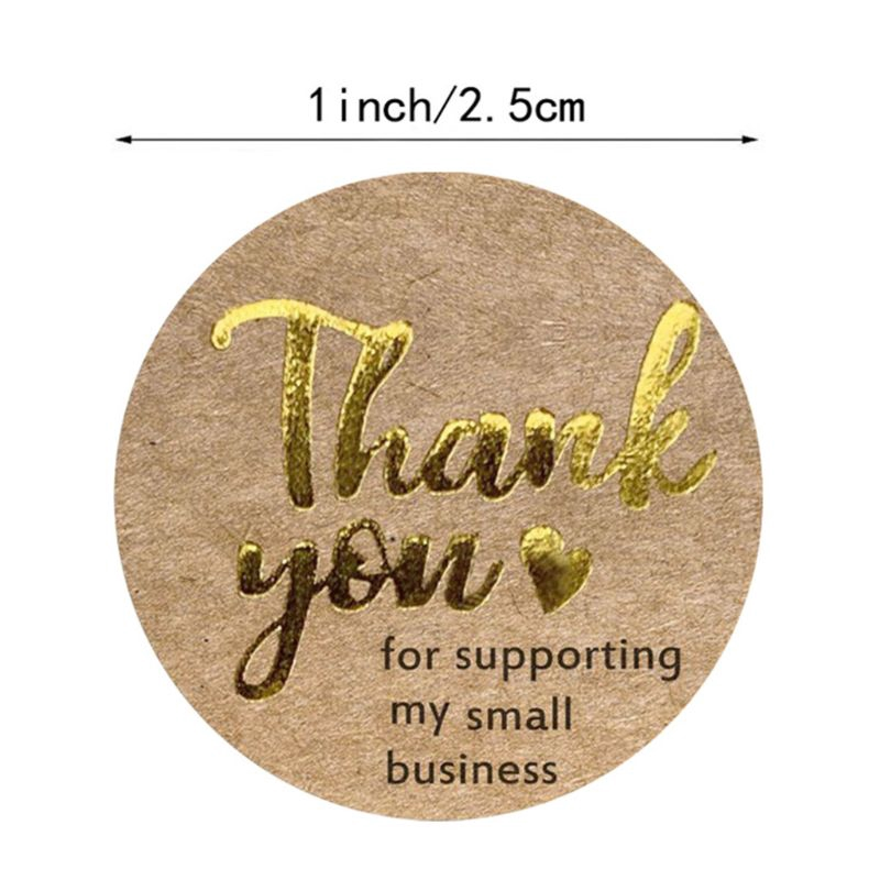 Thank You For Supporting My Small Business Stickers Ready To Use