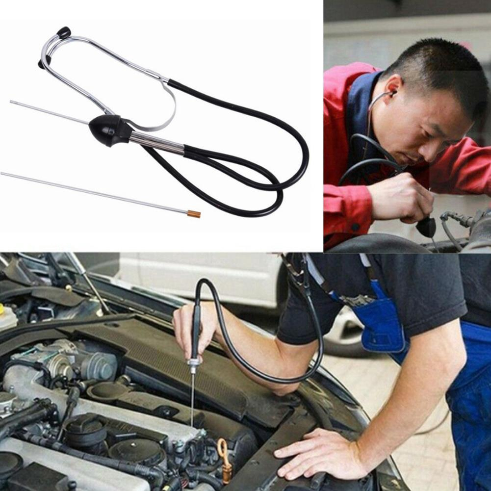 Mechanics Car Garage Stethoscope Engine Diagnostic Test Tool with Two Probes